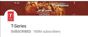 T series, top 10 YouTube channels, t series youtube
