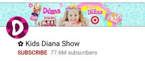 Kids Diana show, top 10 YouTube channel, most subscribed youtu e channel