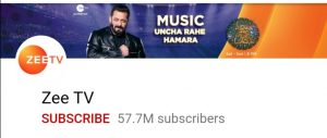 Top 10 YouTube channel, top 10 Indian youtube channel, Zee TV