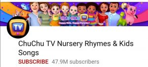 Chu Chu TV, Top 10 YouTube channel, top 10 Indian youtube channel