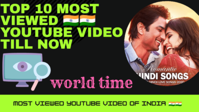 Top 10 indian youtube video , most viewed indian video, top 10 indian video